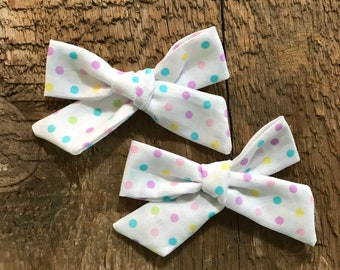 bows| pigtails| pigtail set| baby girl| toddler girl| handtied