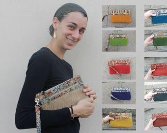 "Wristlet Wallet Wristlet Purse 11 colors Women Wallet Wrist Strap 9.5""x6"""