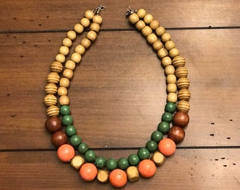 Bead Necklace | Multi-Strand