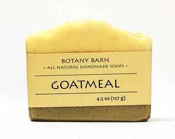Goat Milk Soap, Oatmeal Soap, Gentle Soap, Natural Soap, Organic Soap, Handmade Soap, Cold Process Soap, Homemade Soap, Goats Milk Soap