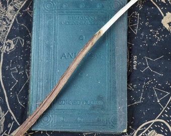 Rare Wych Elm Wood Knotted Wand - For the Goddess - Pagan, Wicca, Witchcraft