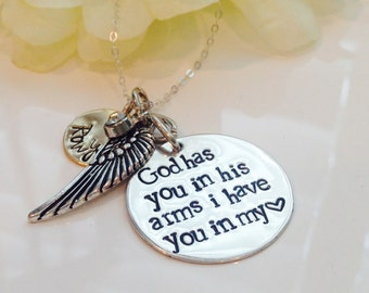 Loss of a loved one necklace-Loss of a child necklace-