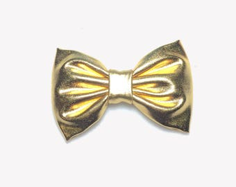 Gold Hair Clip, Girls Hair Clips, Gold Hair Bow, Gold Bow, Hair Clip Bows, Hair Clip Barrette, Hair Clip For Toddlers, Baby Bows, Baby Gold