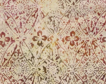 Timeless Treasures Tonga batik fabric in Ivory