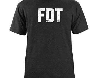 Original Distressed F*ck Donald Trump T-Shirt