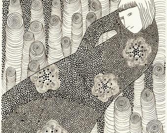 Original drawing - Joy of the circles 2