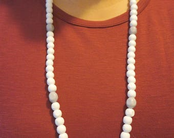Handmade Double wrap beaded necklace