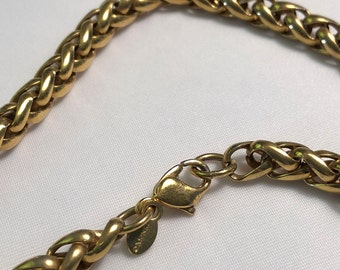 VINTAGE - MONET 1980s GOLDTONE Chain