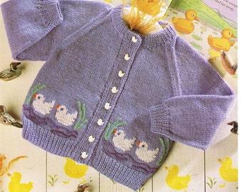 cardigan dk knitting pattern 99p