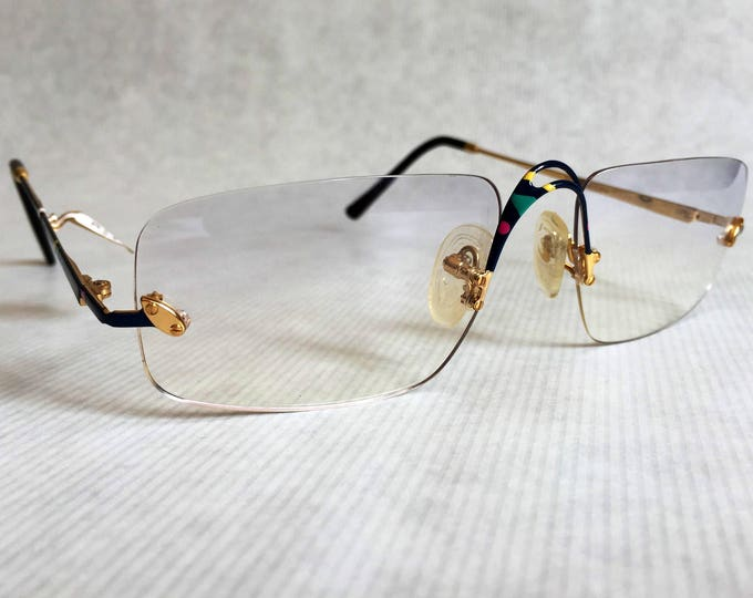 HEAD by Vidi Vici 22K Gold Plated Rimless Vintage Frames Made in West Germany New Old Stock