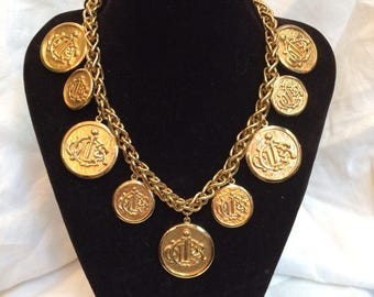 Exceptional and authentic Christian Dior necklace