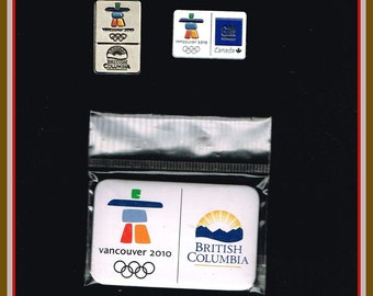3 Vancouver Olympic Pins - Winter Olympics