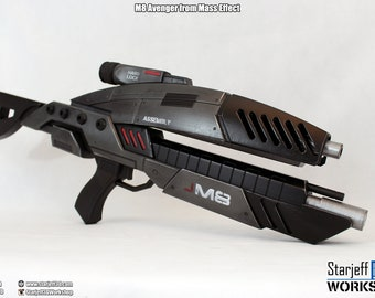 M8 - Avenger from Mass Effect [Fan-art]