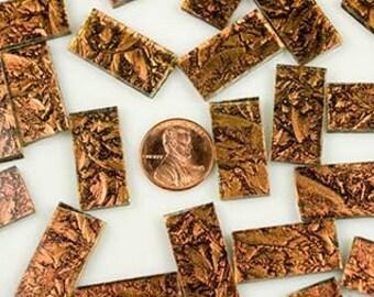 Van Gogh Copper Sparkle Mosaic Tile