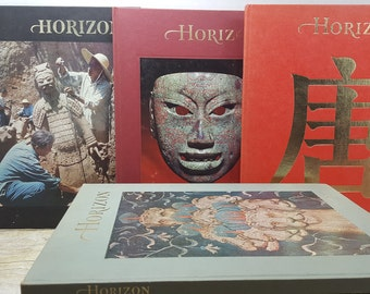 Lot of 10 Horizon Art books, 1960-1970s vintage art books