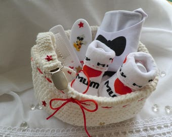 Kit for a newborn baby