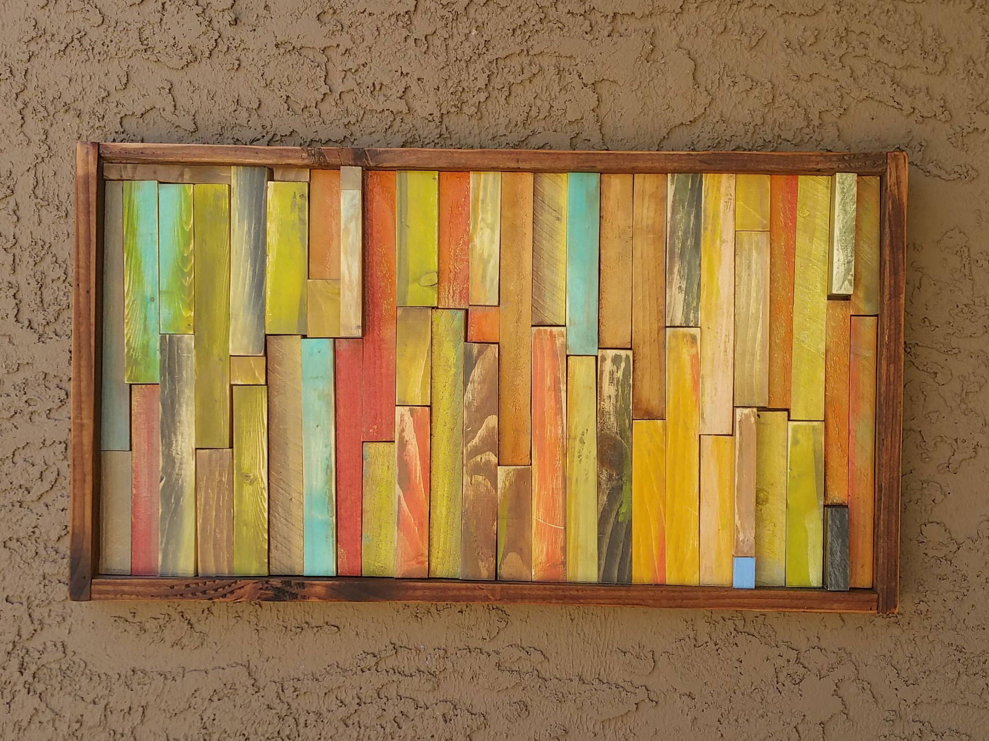 Comfortable Abstract Wooden Wall Art Ideas - The Wall Art ...