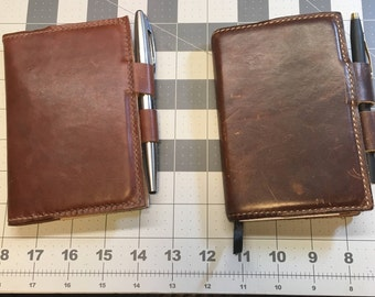 Small Leather Journal Cover