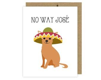 Funny Chihuahua Dog Card- Etsy