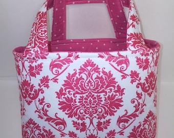Small tote bag/ scripture bag/ Bible bag/ Lds scripture bag for Quad