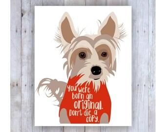 Chinese Crested Dog, Famous Quote, Dog Decor, Fun Art, Dog Art, Small Dog, Dog Sweater, Dog Picture, Dog Graphic, Cute Dog, Dog Wall Decor