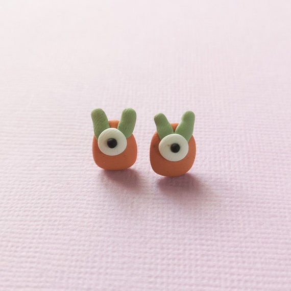 SALE - Monster Stud Earrings