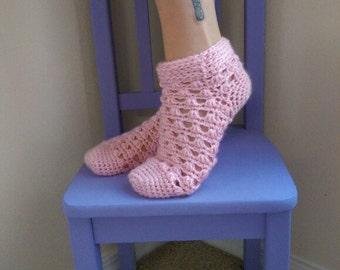 Lazy Daisy Socks Crochet Pattern *PDF DOWNLOAD* Instant Download