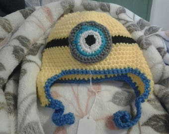 Toddler beanie minion