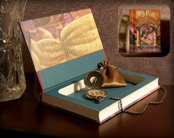 Hollow Book Safe - Harry Potter and The Sorcerer's Stone - Secret Book Safe
