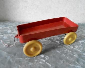 1950's Plastic Toy Wagon