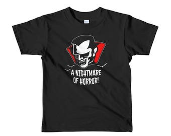 Goth Kids Clothes | Punk Kids | Gothic Kids | Horror Kids | Vampire Kids | Vampire Bat | Monster Kids | Halloween Shirt | Toddler Shirt