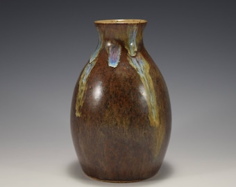 Hand-Thrown Pottery Bud Vase -- In Stock and Ready to Ship