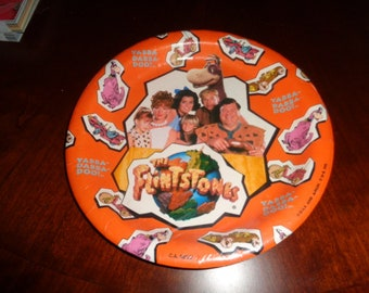 """Kitschy Cartoons The Flintstone The Movie 8 Paper Plates 9"""" in package"""