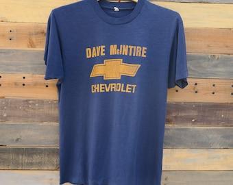 0437 - Chevrolet - Dave McINTIRE - Thin T- Shirt