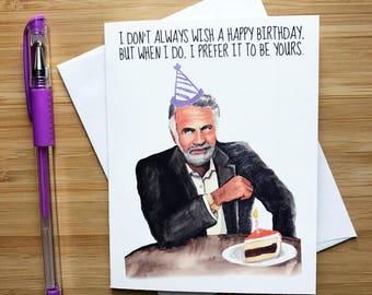 Birthday Wishes Male Beer ~ Man birthday card etsy