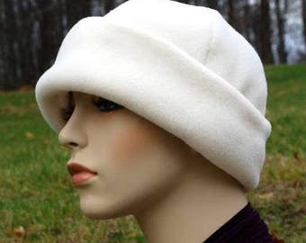 PDF sewing PATTERN, polar fleece cap , hat