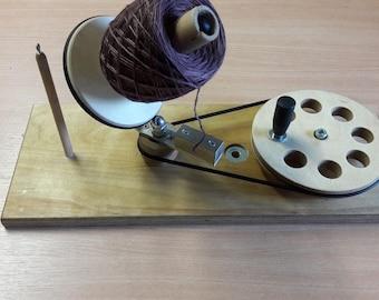 Wool wrappers made of wood, Mega Ball winder, Woolwinder, Wool winder,