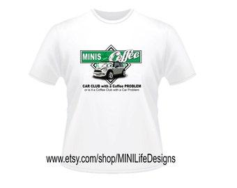 MINIS & Coffee t-shirt