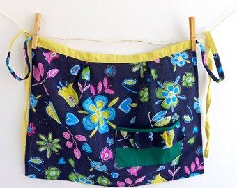 Handmade cotton cooking apron for woman / Handmade grembiule di cotone da cucina per donna