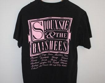 1991 Siouxsie & The Banshees Tour Tee RARE Gothic Tshirt XL