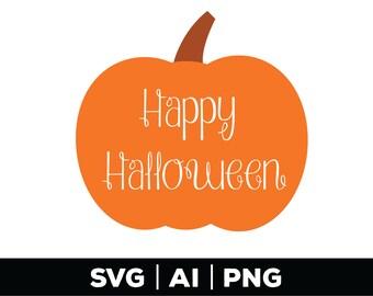 Happy Halloween SVG, Pumpkin SVG, Fall Pumpkin SVG, Halloween Svg, Fall Svg