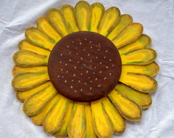 Sunflower - All Wood