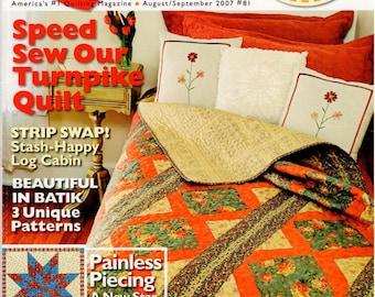 Quilt Magazine - August/September 2007 - #81
