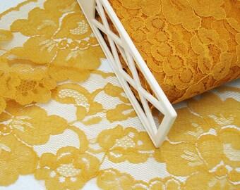 Vintage Wide  Floral Lace Trim