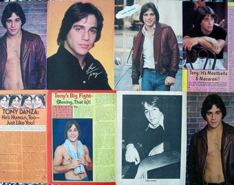 TONY DANZA ~ Taxi, Who's The Boss, Family Law, She's Out of Control, Don Jon ~ Color and B&W Articles, Pin-Ups from 1979-1980
