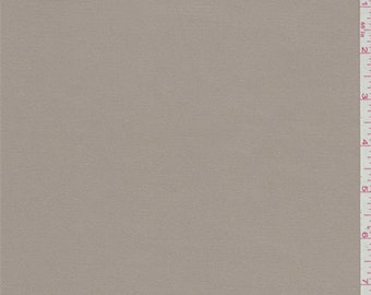 Pale Brown Stretch Twill, Fabric By The Yard
