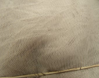 MESH knit fabric taupe 170 CM