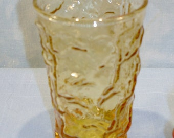 Milano Amber Juice Glass, 4 in.