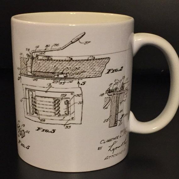 Fender strat blueprint coffee mug malvernweather Choice Image