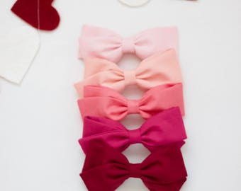 Valentine Bow Set